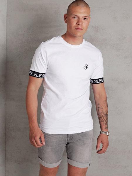 Logo Sleeve T-Shirt - White