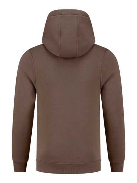 2LEGARE Small Logo Hoodie - Taupe/White