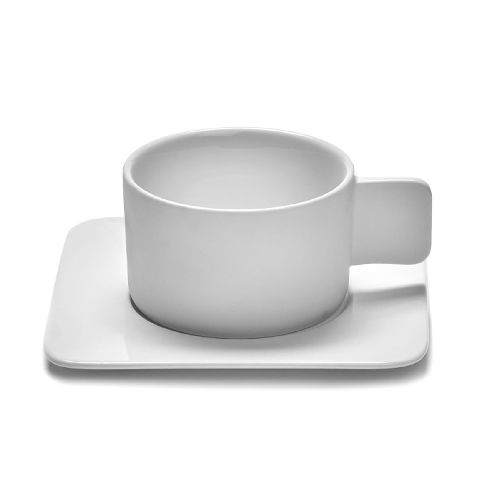 SERAX SAUCER CAPPUCCINO CUP HEII