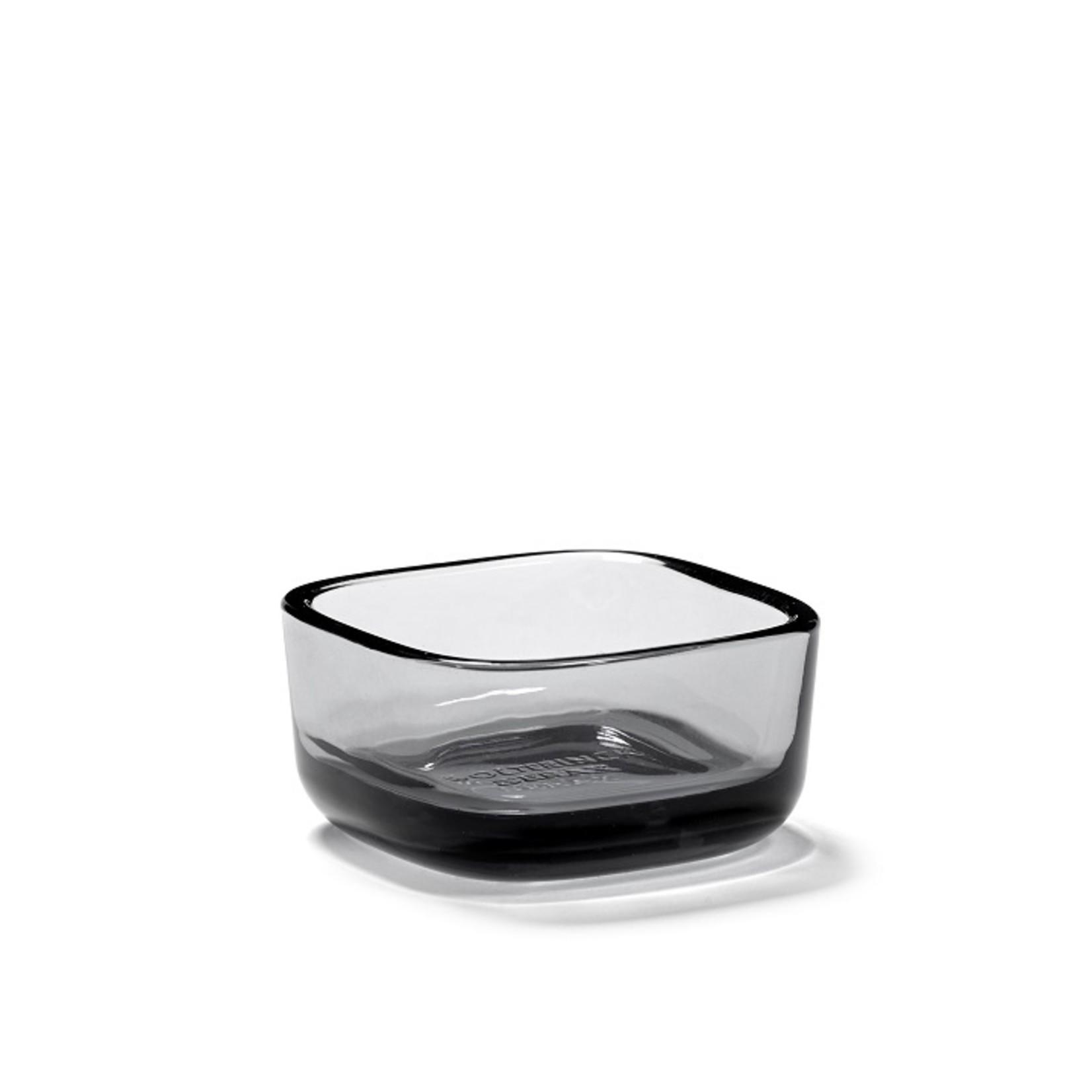 SERAX SQUARE BOWL HIGH GLASS M HEII