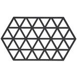ZoneDenmark Siliconen onderzetter - Zwart