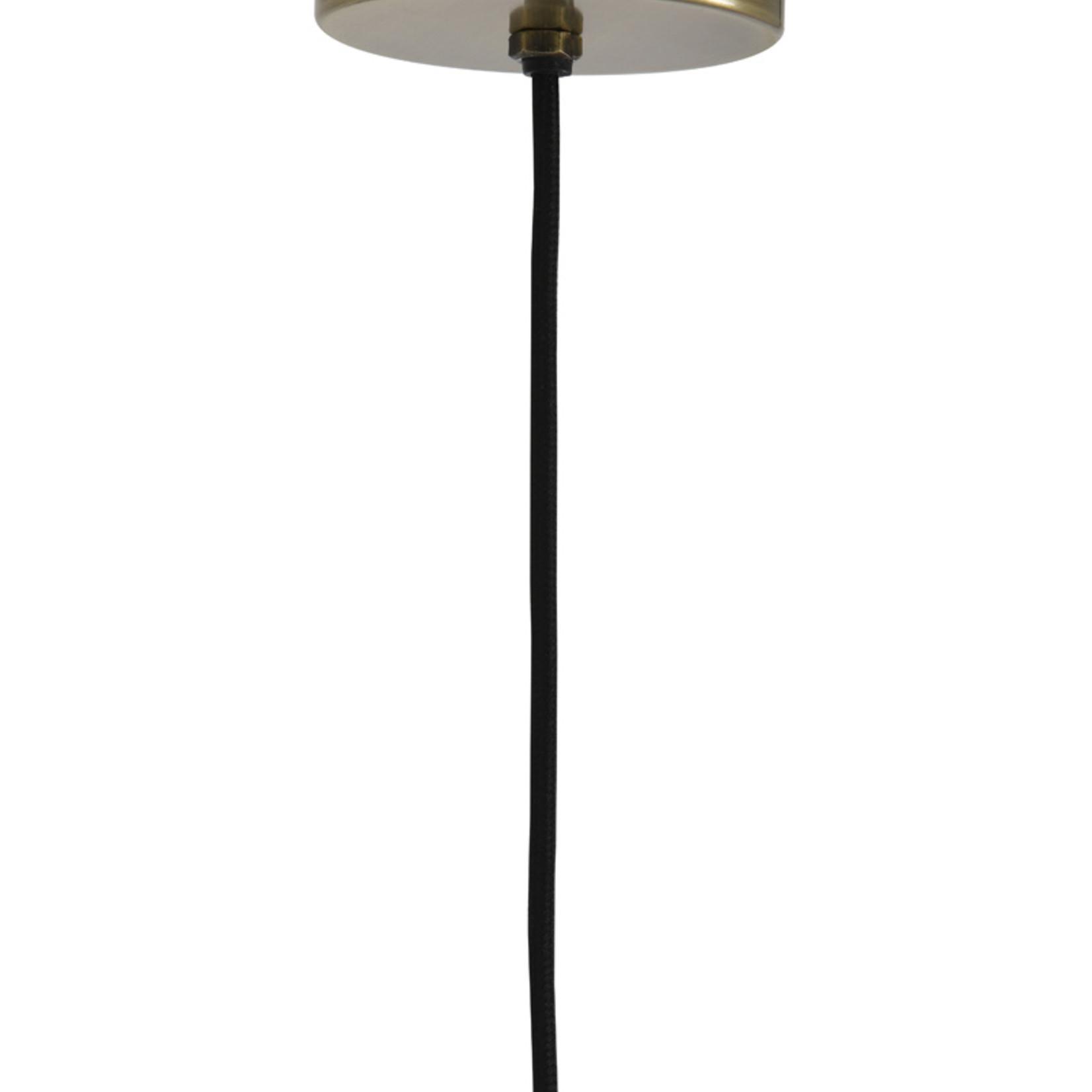 Hanglamp - ROHUT  -  donker warm grijs