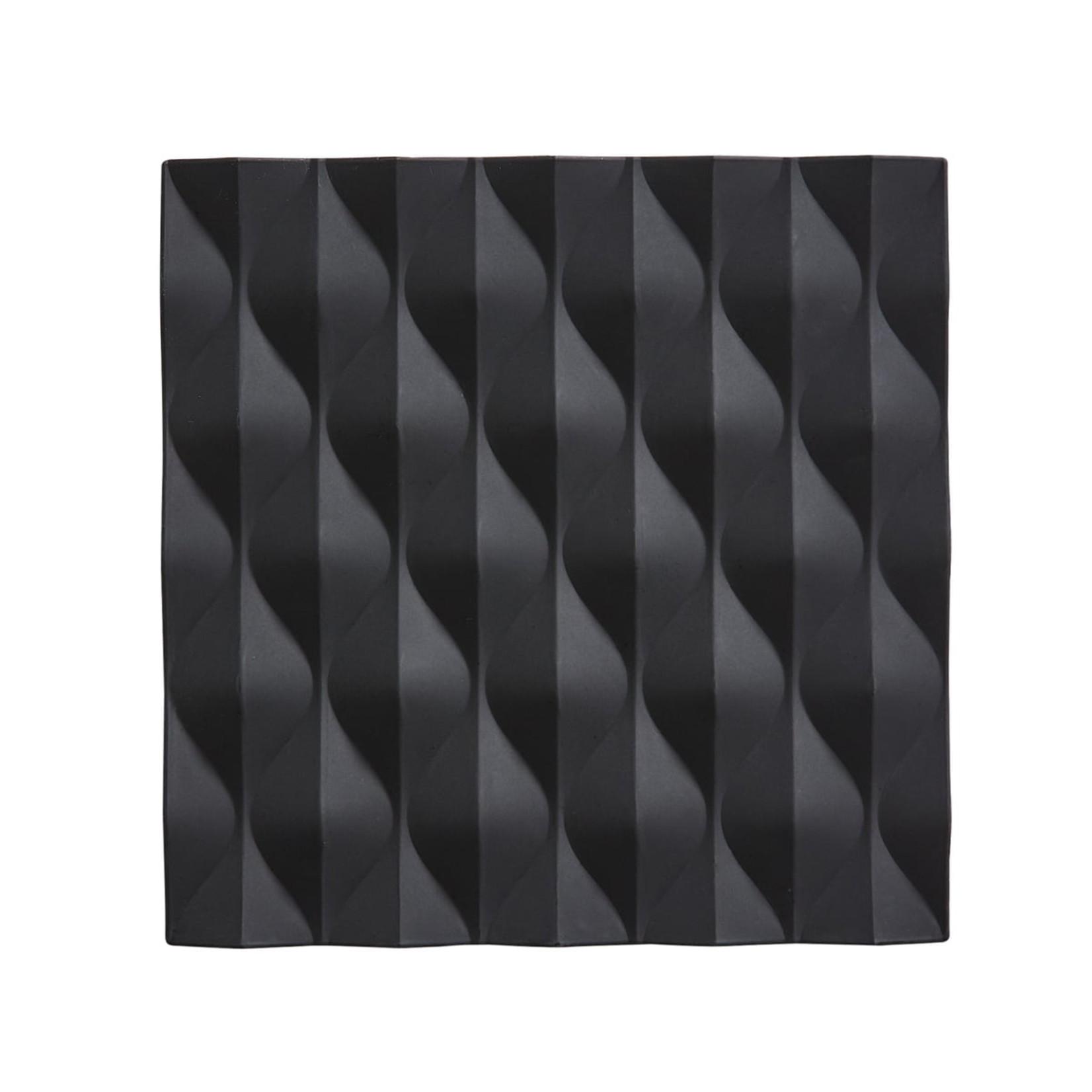 ZoneDenmark Onderzetter WAVE - Zwart