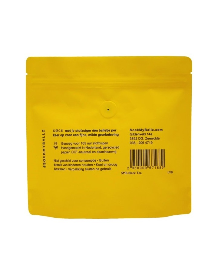 30 Stofzuigerballen - Black Tea