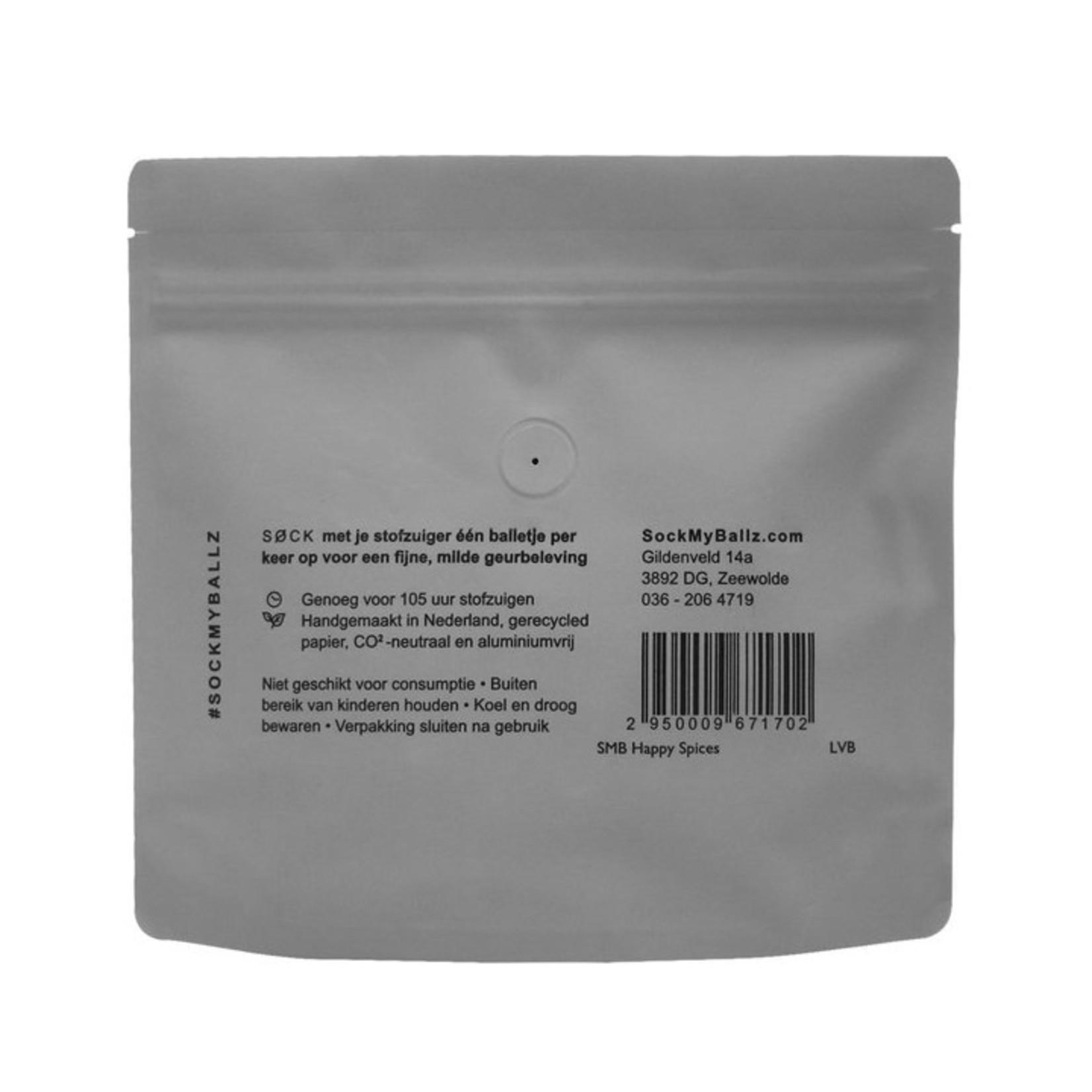 SockMyBallz 30 Stofzuigerballen - Happy Spices