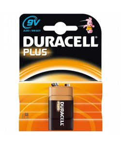 Batterij 9 volt (blokje)