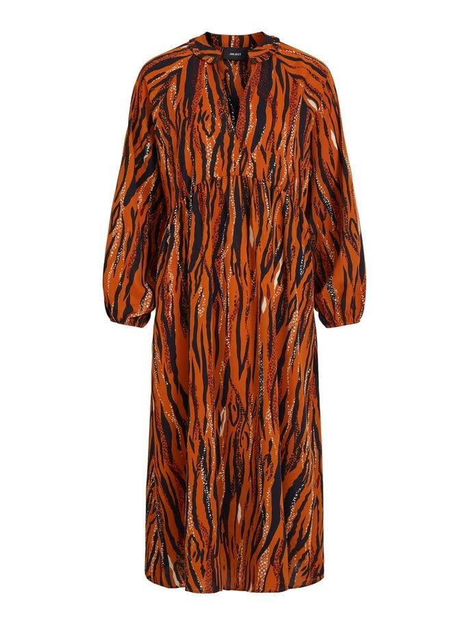 OBJECT Object - objsandie l/s long dress