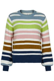 NUMPH NUMPH - nubexley-stripe pullover