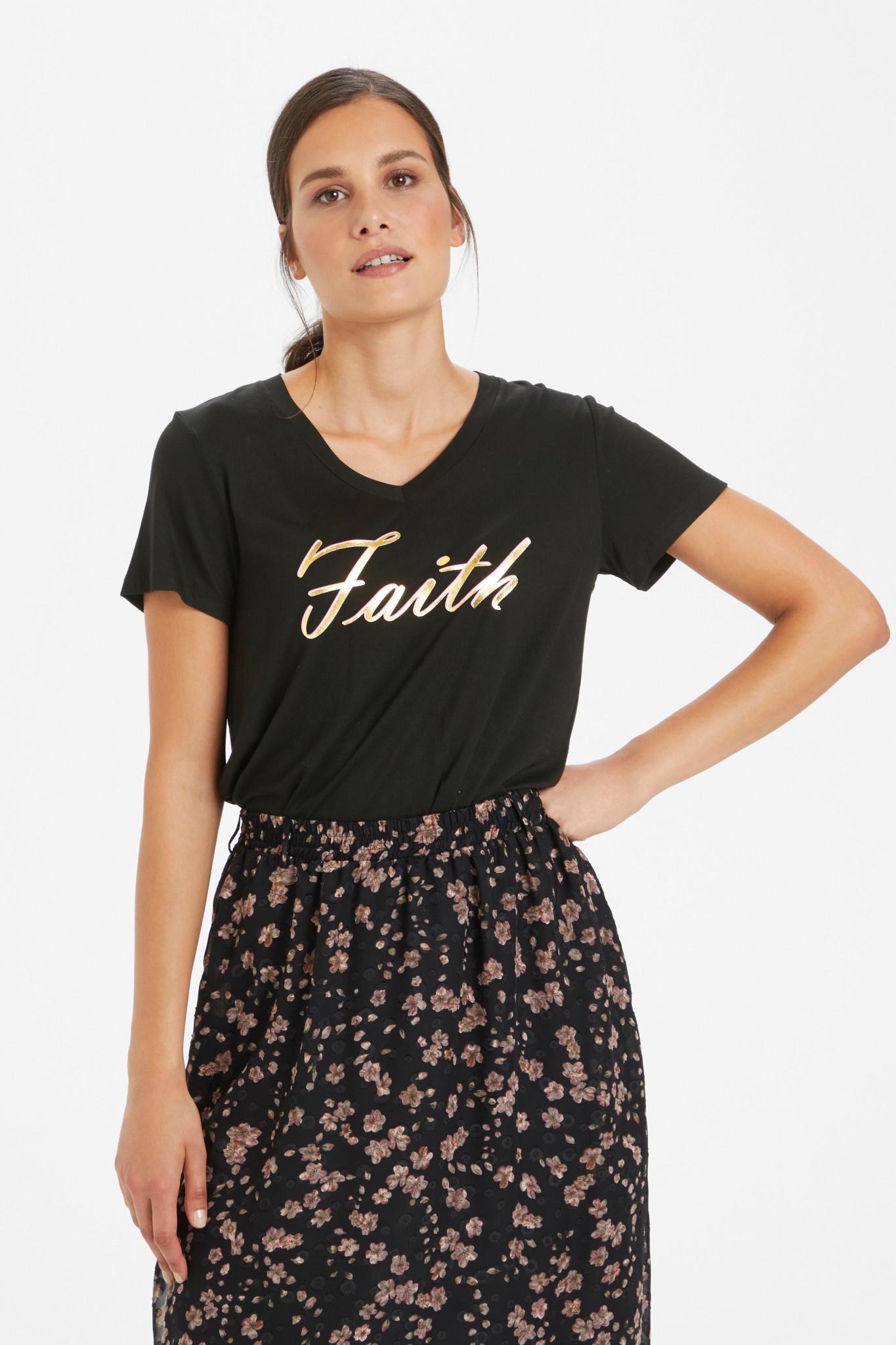 KAFFE KAFFE - kafaith t-shirt