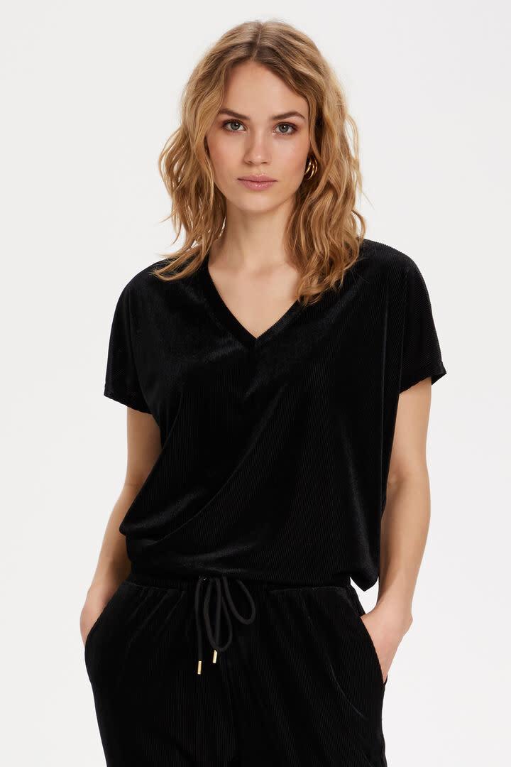 KAFFE KAFFE - kacollin velvet blouse