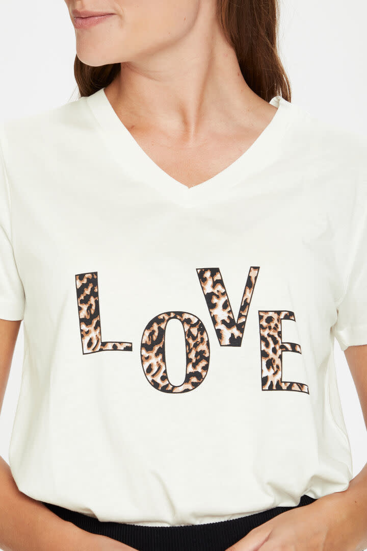 KAFFE KAFFE - kalove t-shirt