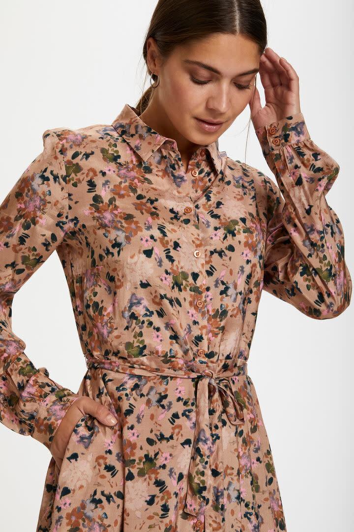 KAFFE KAFFE - kaelina shirt dress