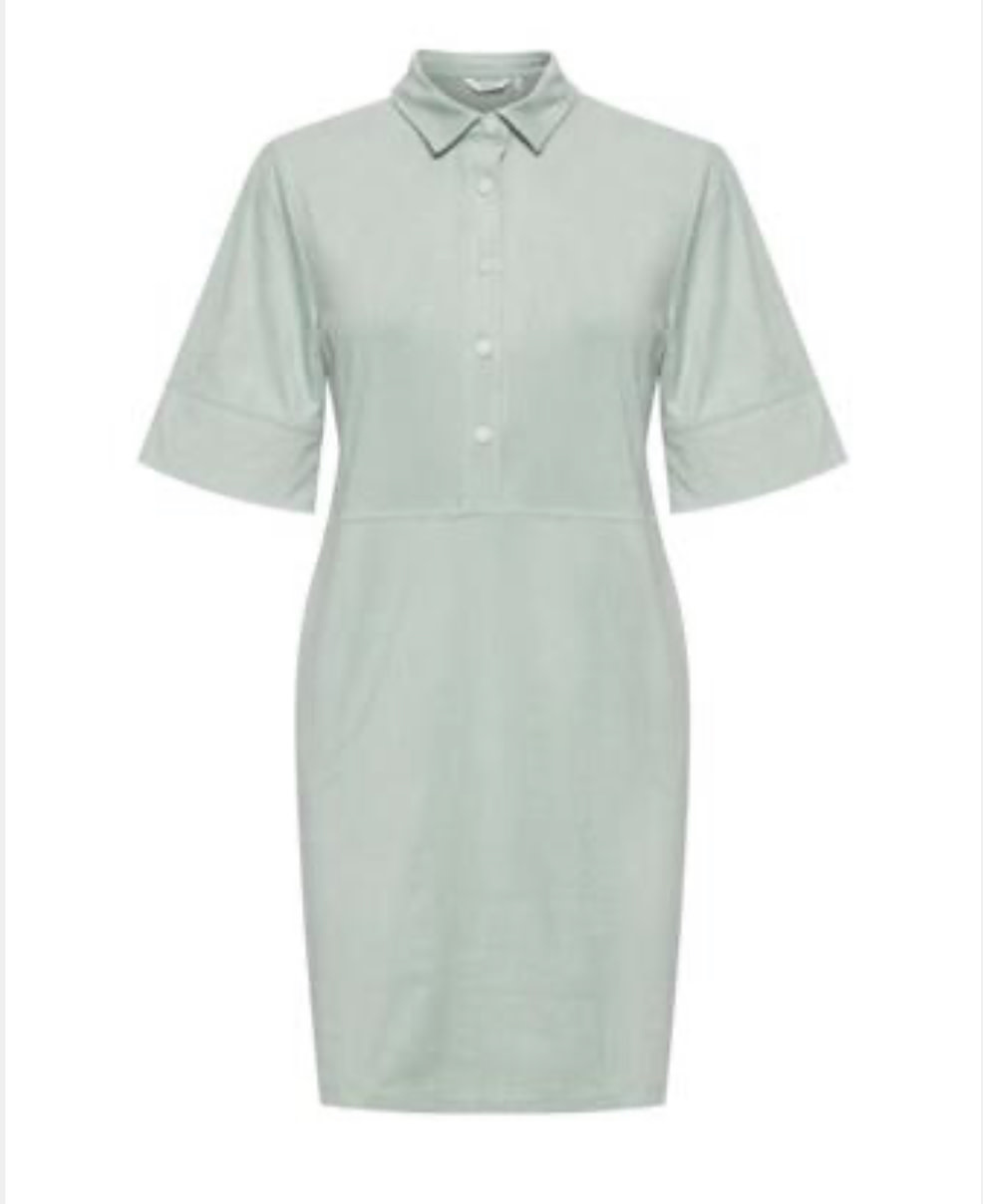 B.Young B.YOUNG - byregiza placket dress