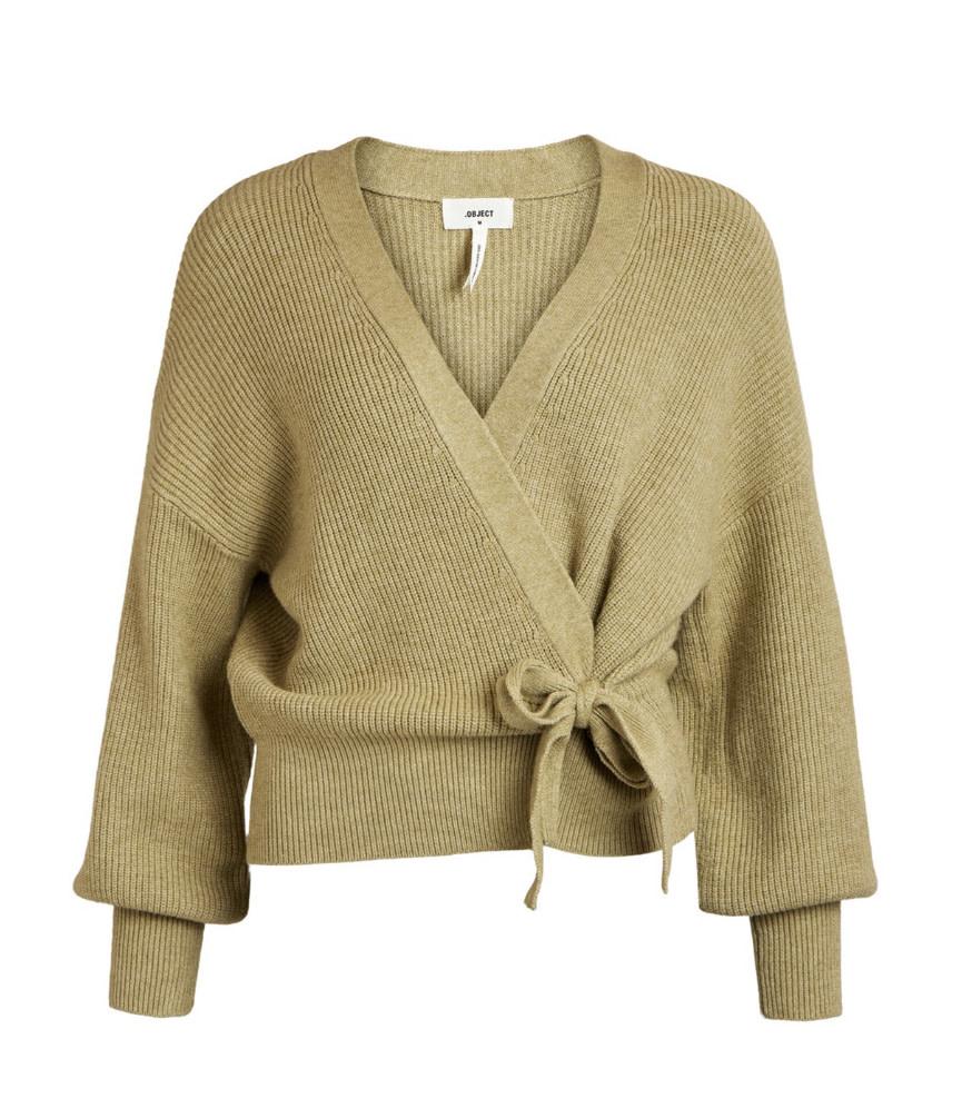 OBJECT OBJECT - objviolette l/s knit cardigan