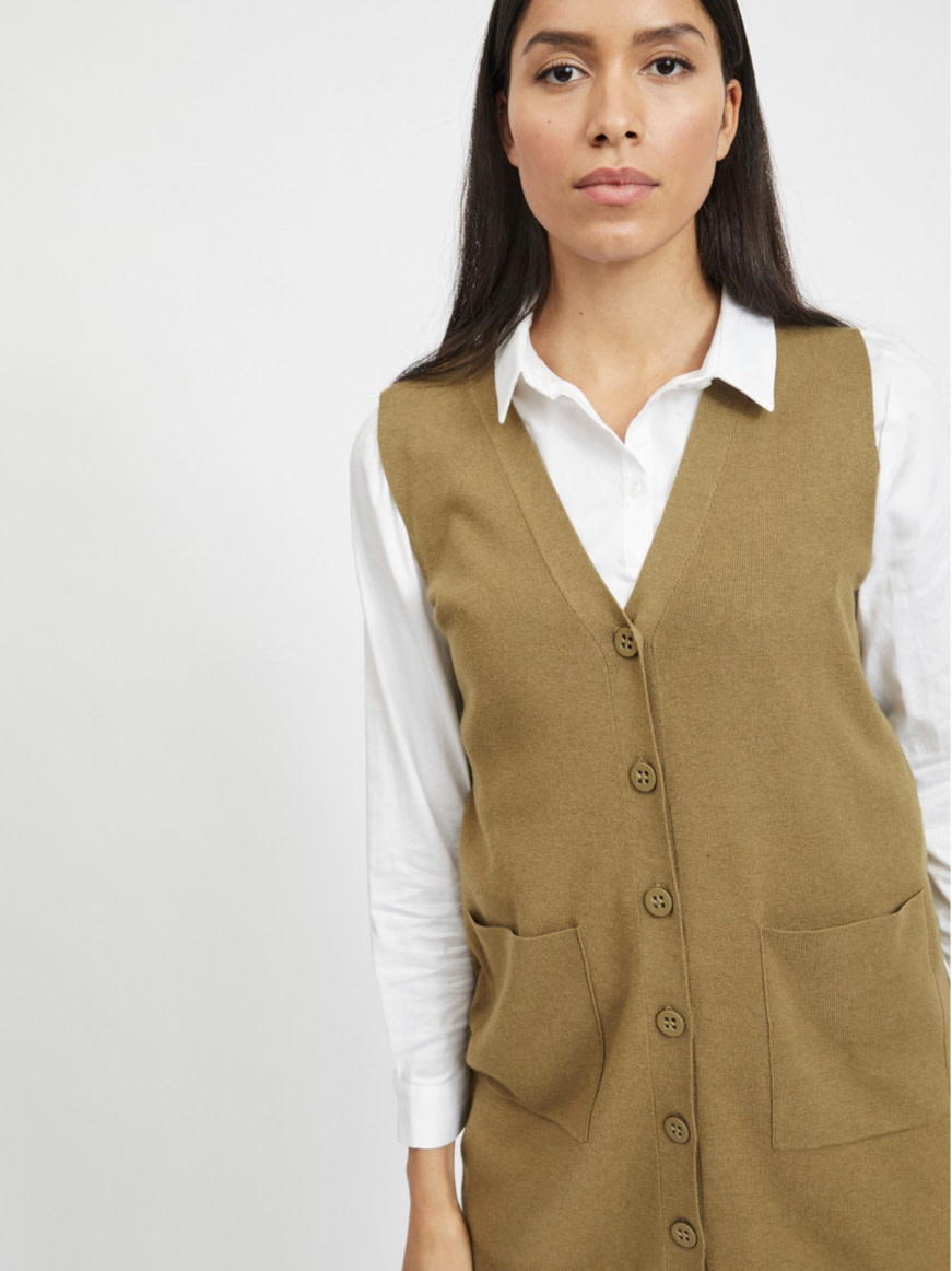 OBJECT OBJECT - objedith knit waistcoat