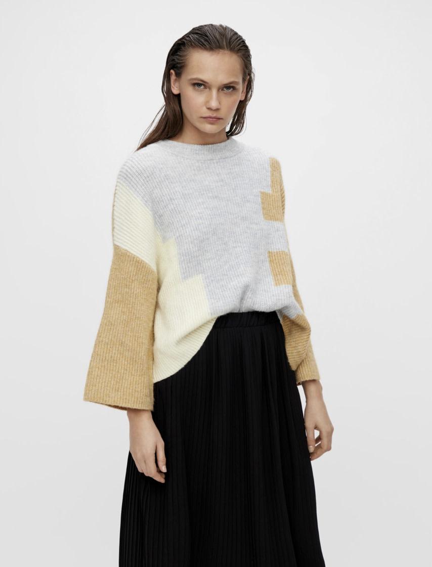 OBJECT OBJECT - objalizee 3/4 knit pullover