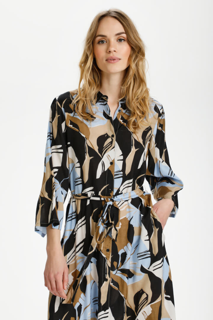 KAFFE KAFFE - kakaimana shirt dress