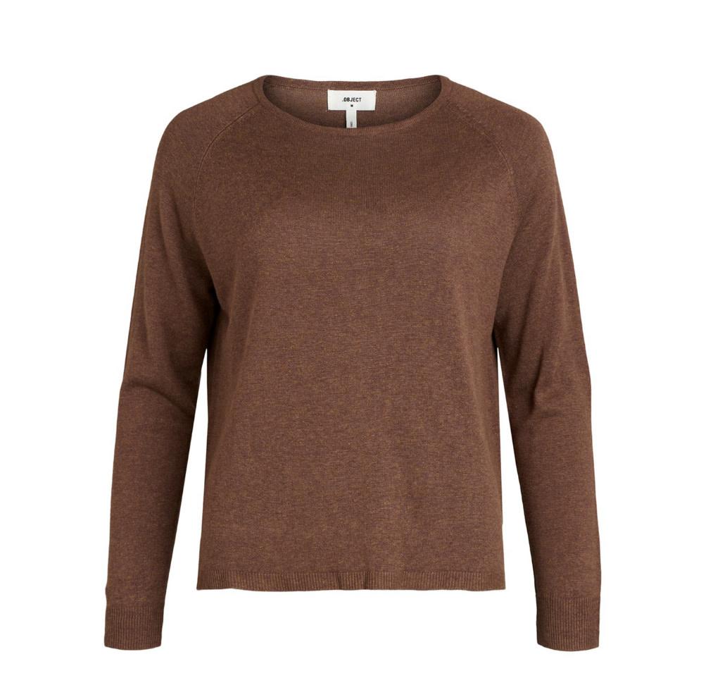 OBJECT OBJECT - objangie l/s knit pullover - partridge