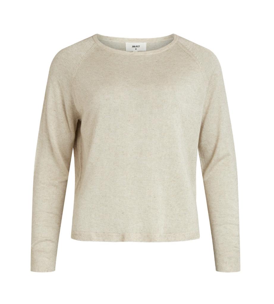 OBJECT OBJECT - objangie l/s knit pullover - sandshell