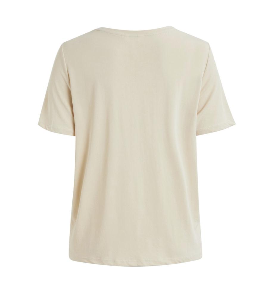 OBJECT OBJECT - objannie s/s T-shirt - sandshell