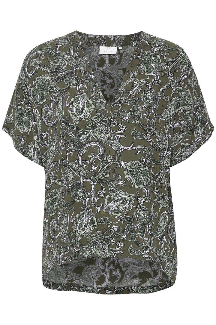 KAFFE KAFFE - kaevity amber blouse