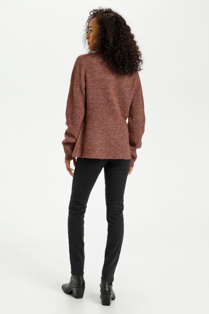 KAFFE KAFFE - kanitana knit pullovr