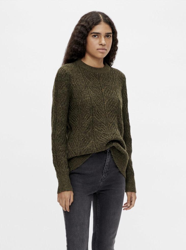 OBJECT OBJECT - objnova stella l/s knit pullover noos