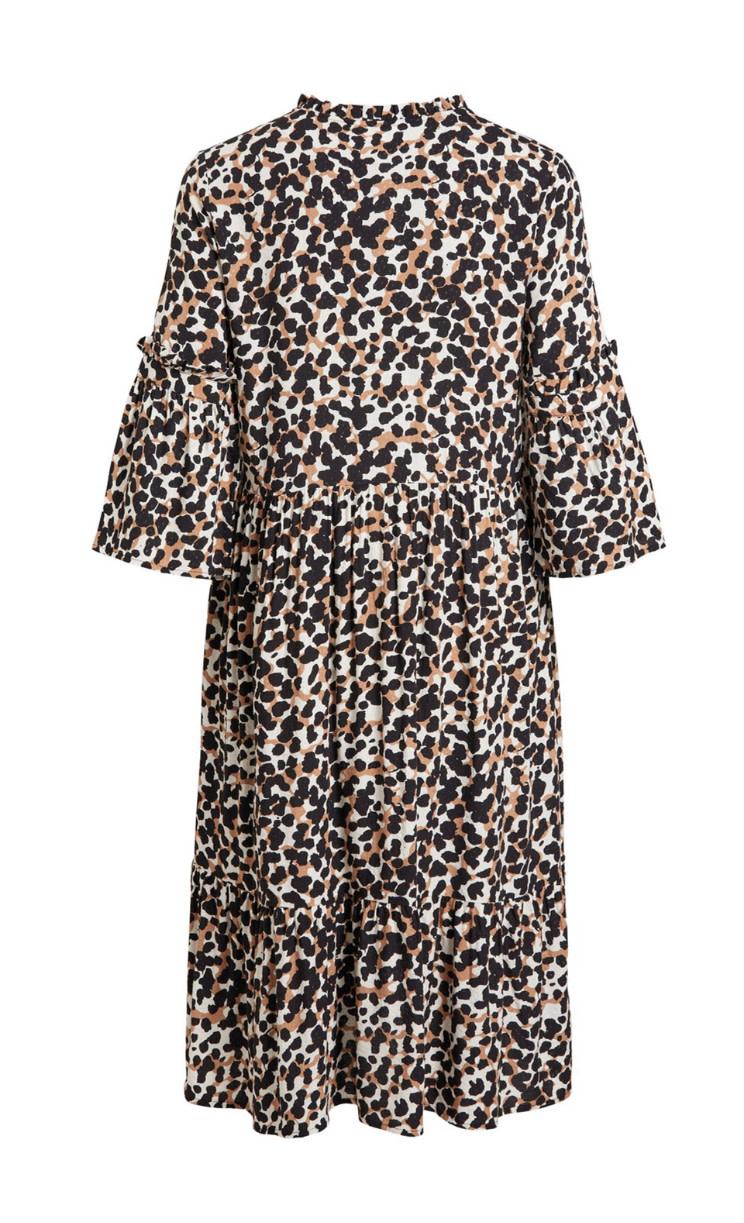 OBJECT OBJECT - objpamala 3/4 midi dress