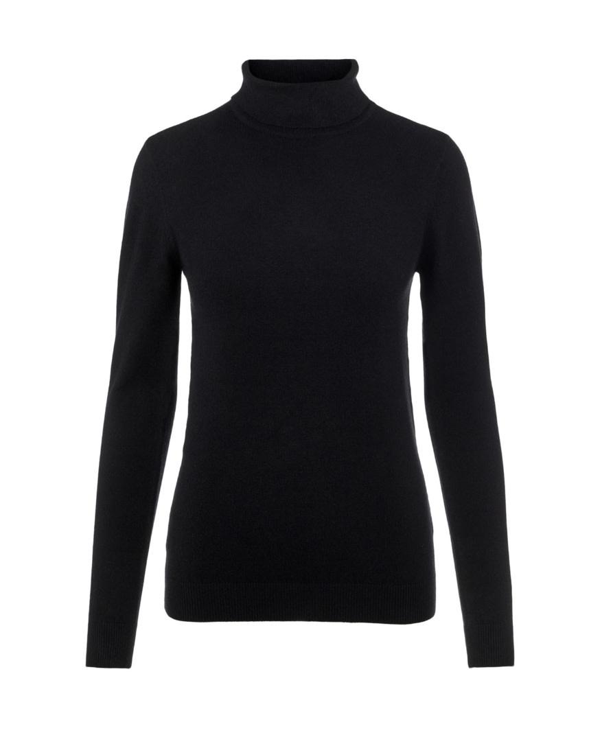 OBJECT OBJECT - objthess l/s rollneck knit pullover noos - zwart