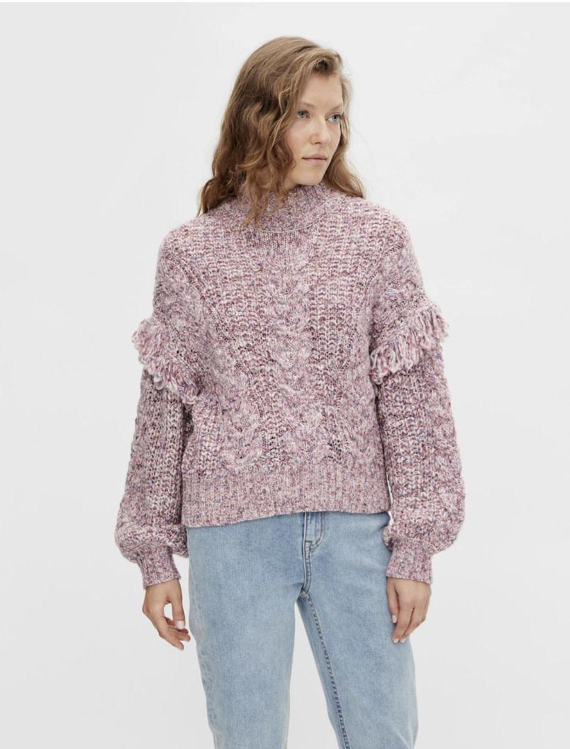 OBJECT OBJECT - objmelanise l/s knit pullover