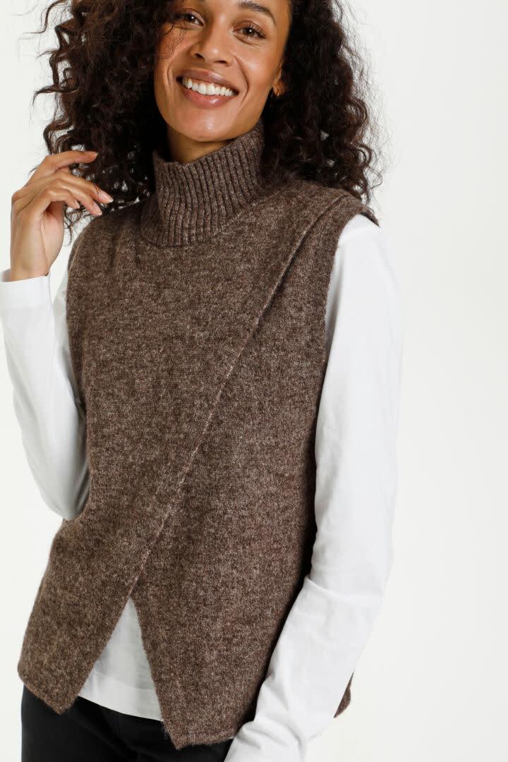 KAFFE KAFFE - kataris knit vest