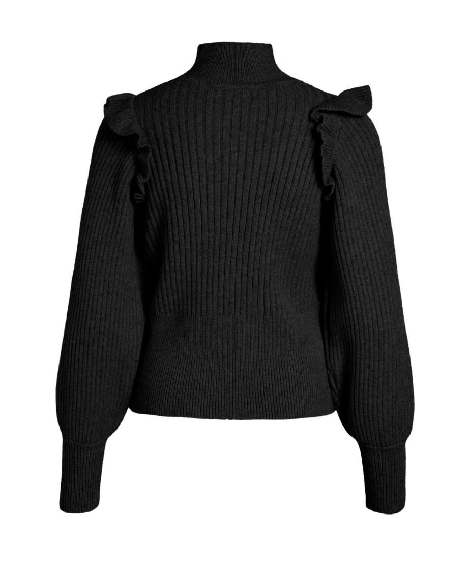 OBJECT OBJECT - objdiva knit pullover - zwart