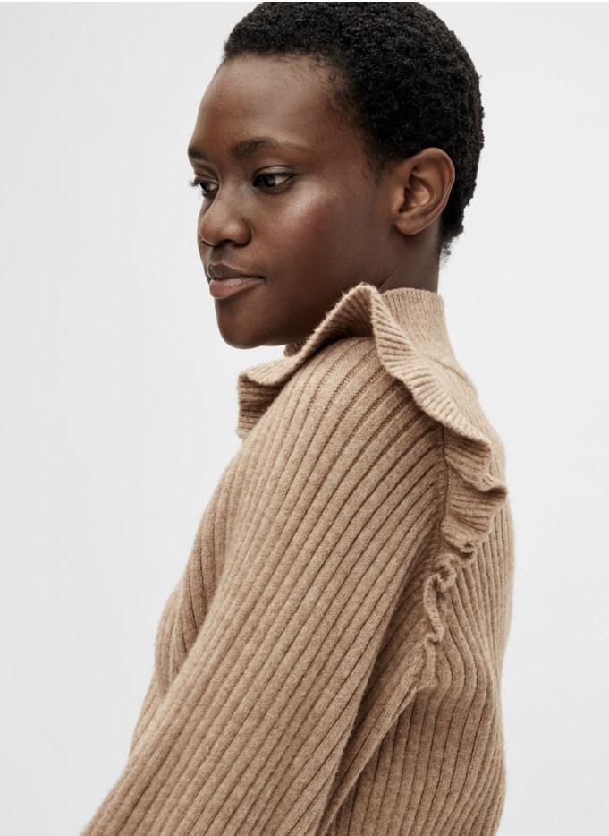 OBJECT OBJECT - objdiva knit pullover - chipmunk