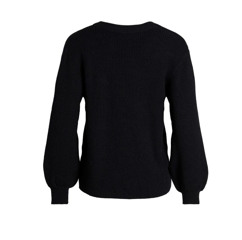 OBJECT OBJECT - objmalena l/s knit pullover noos zwart