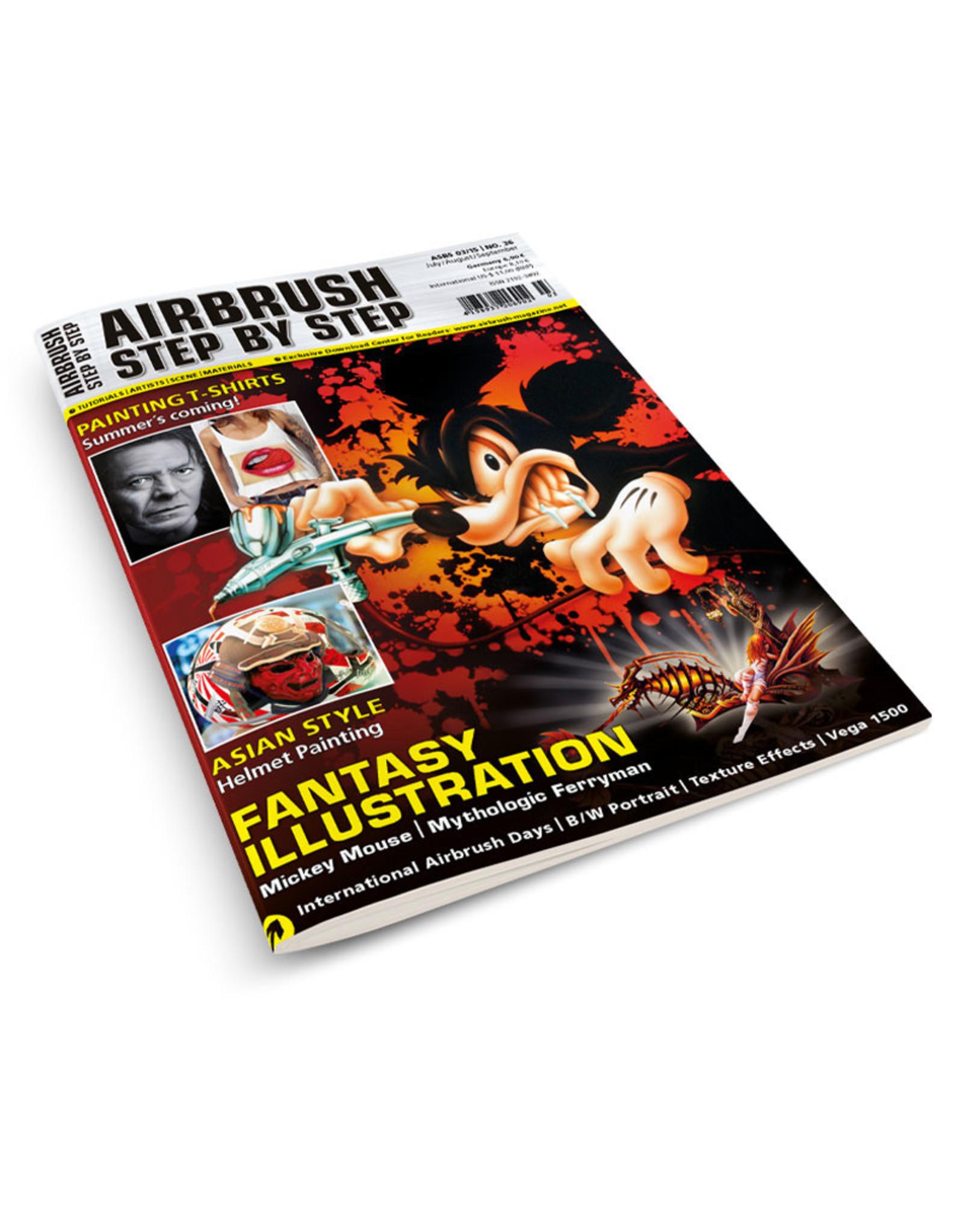 Airbrush Step by Step magazine Airbrush Step by Step Magazine 36