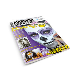 Airbrush Step by Step magazine ASBS Magazine 03/14