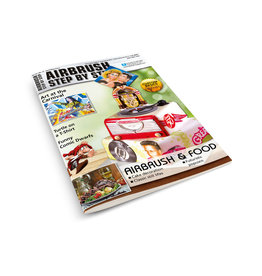 Airbrush Step by Step magazine ASBS Magazine 02/14