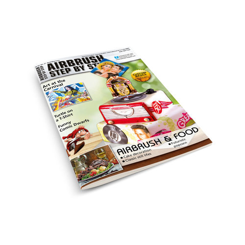 Airbrush Step by Step magazine Airbrush Step by Step Magazine 31