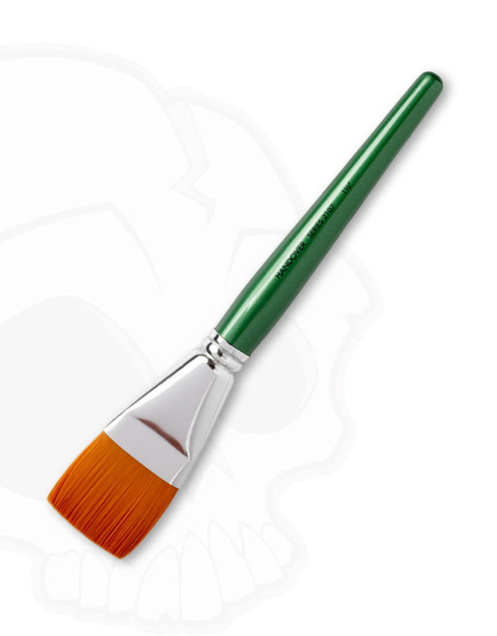 A. S. Handover Handover Series 2107 Synthetic Flat One Stroke Brush