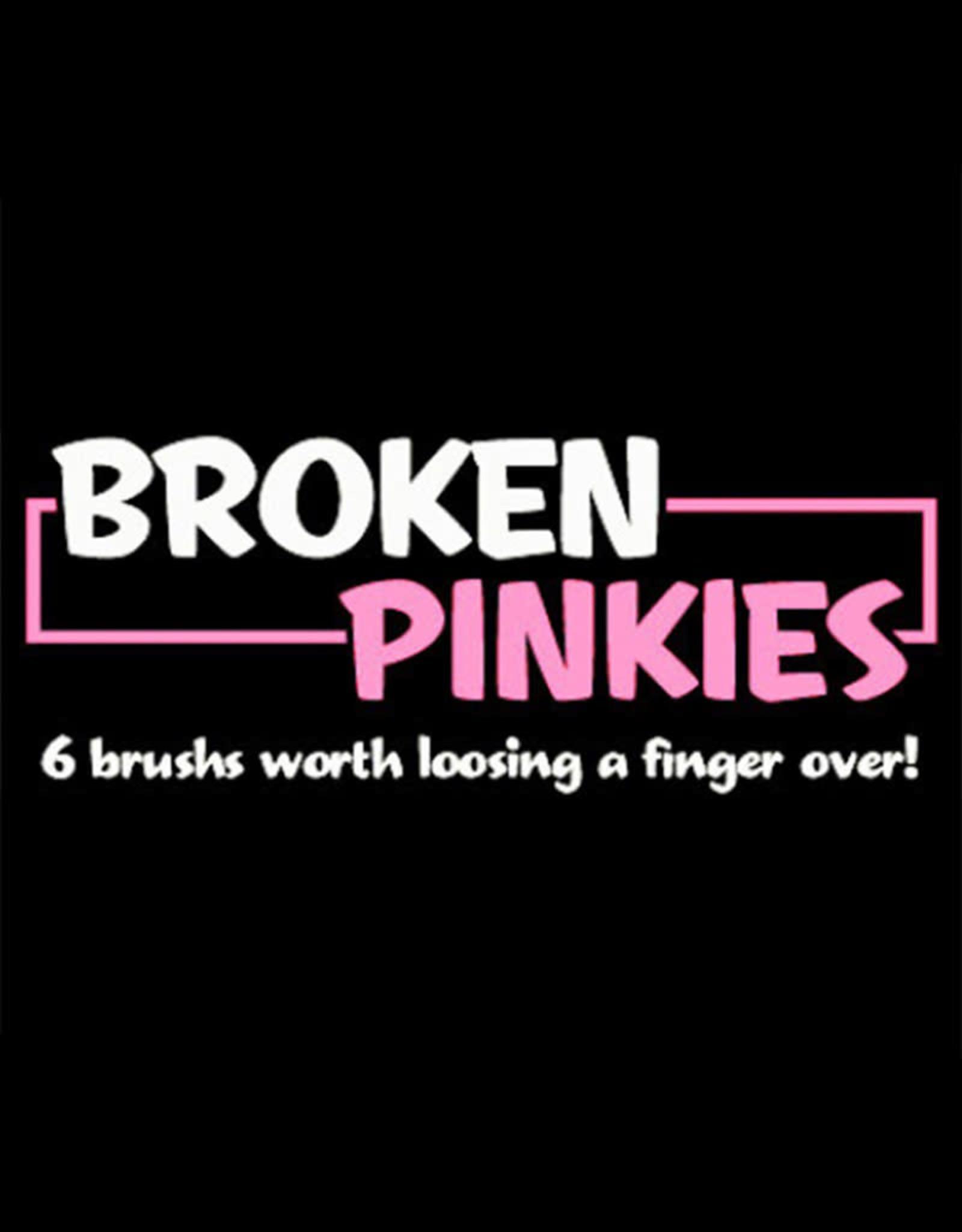 Mack Brushes Mack/Jeral Tidwell Broken Pinkies 6 Brush Set