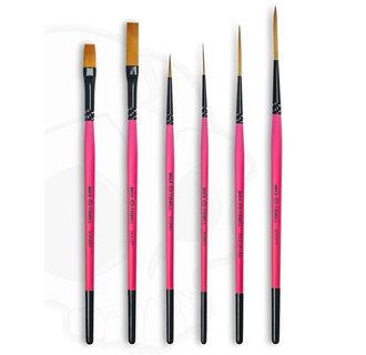 Series M/T-BP - Broken Pinkies 6 Brush Set