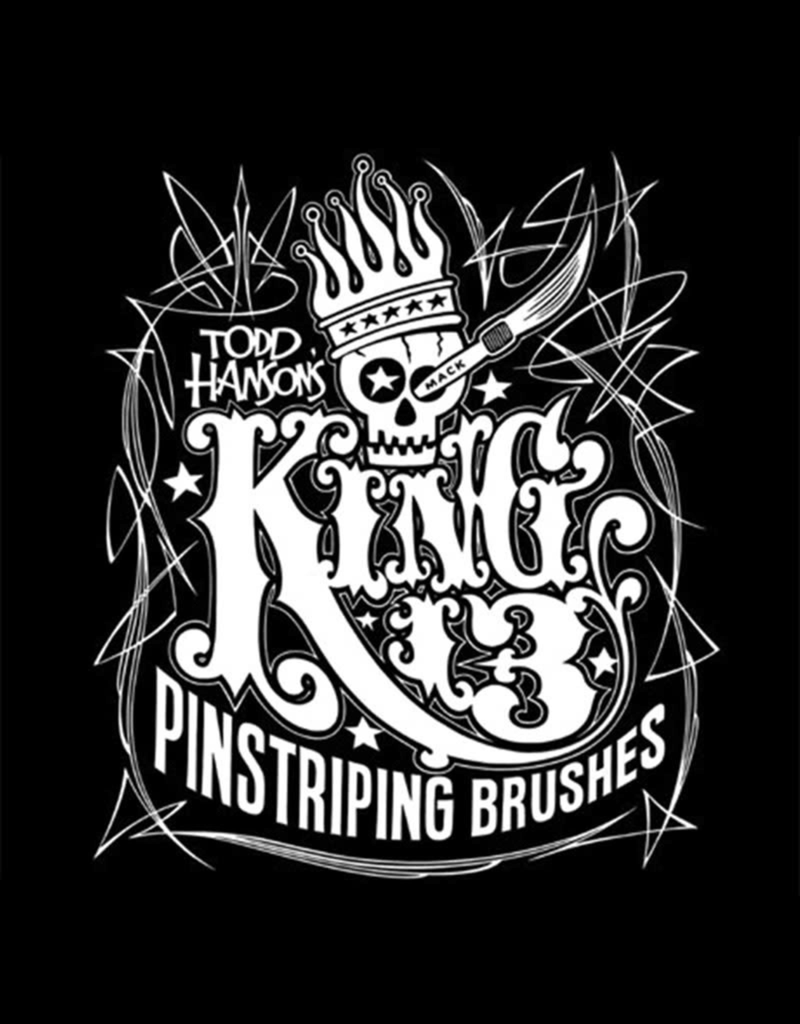 "Mack Brushes Mack Series 13 Hanson/Mack ""KING 13"" Pinstriping Brushes"