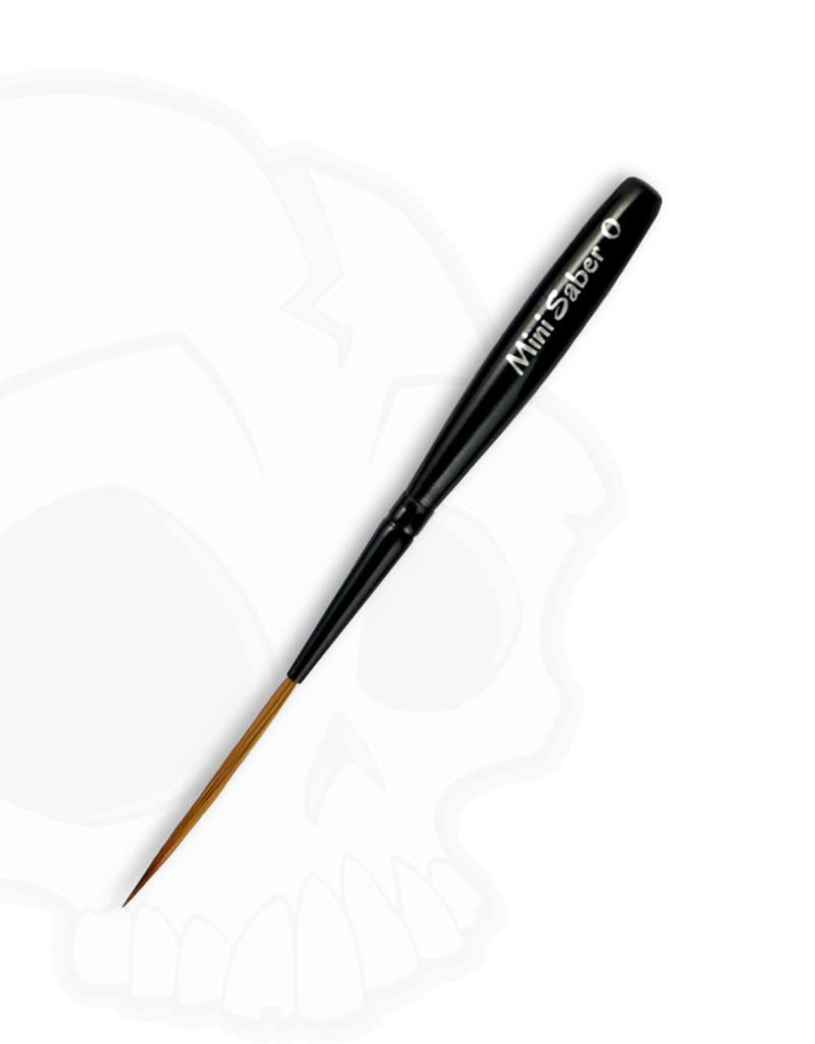 Mack Brushes Mack Series VD-MS Von Dago Mini Saber Brushes