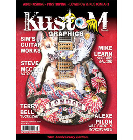 Pinstriping & Kustom Graphics magazine Pinstriping & Kustom Graphics magazine #78