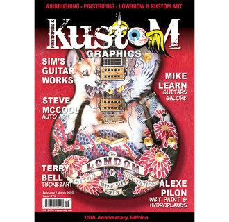 Pinstriping & Kustom Graphics magazine #78