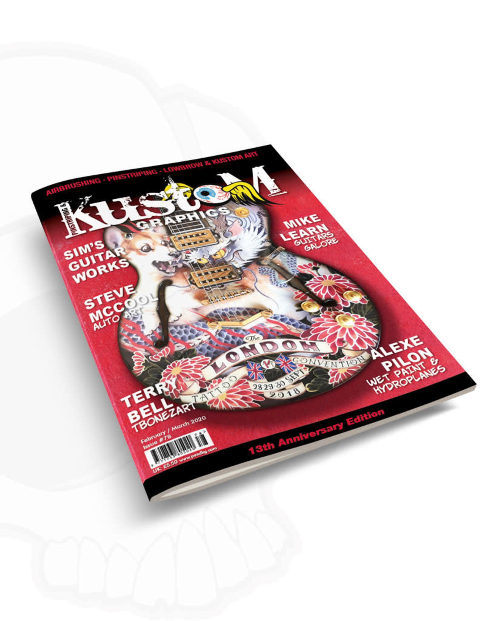 Pinstriping & Kustom Graphics magazine Pinstriping & Kustom Graphics magazine #78