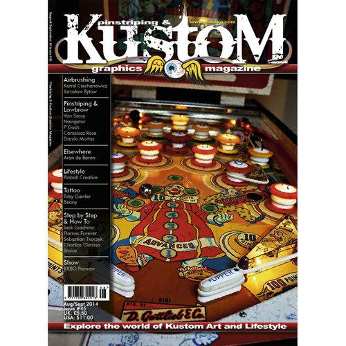 Pinstriping & Kustom Graphics magazine Pinstriping & Kustom Graphics magazine 45