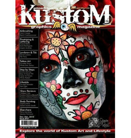 Pinstriping & Kustom Graphics magazine Pinstriping & Kustom graphics magazine #47