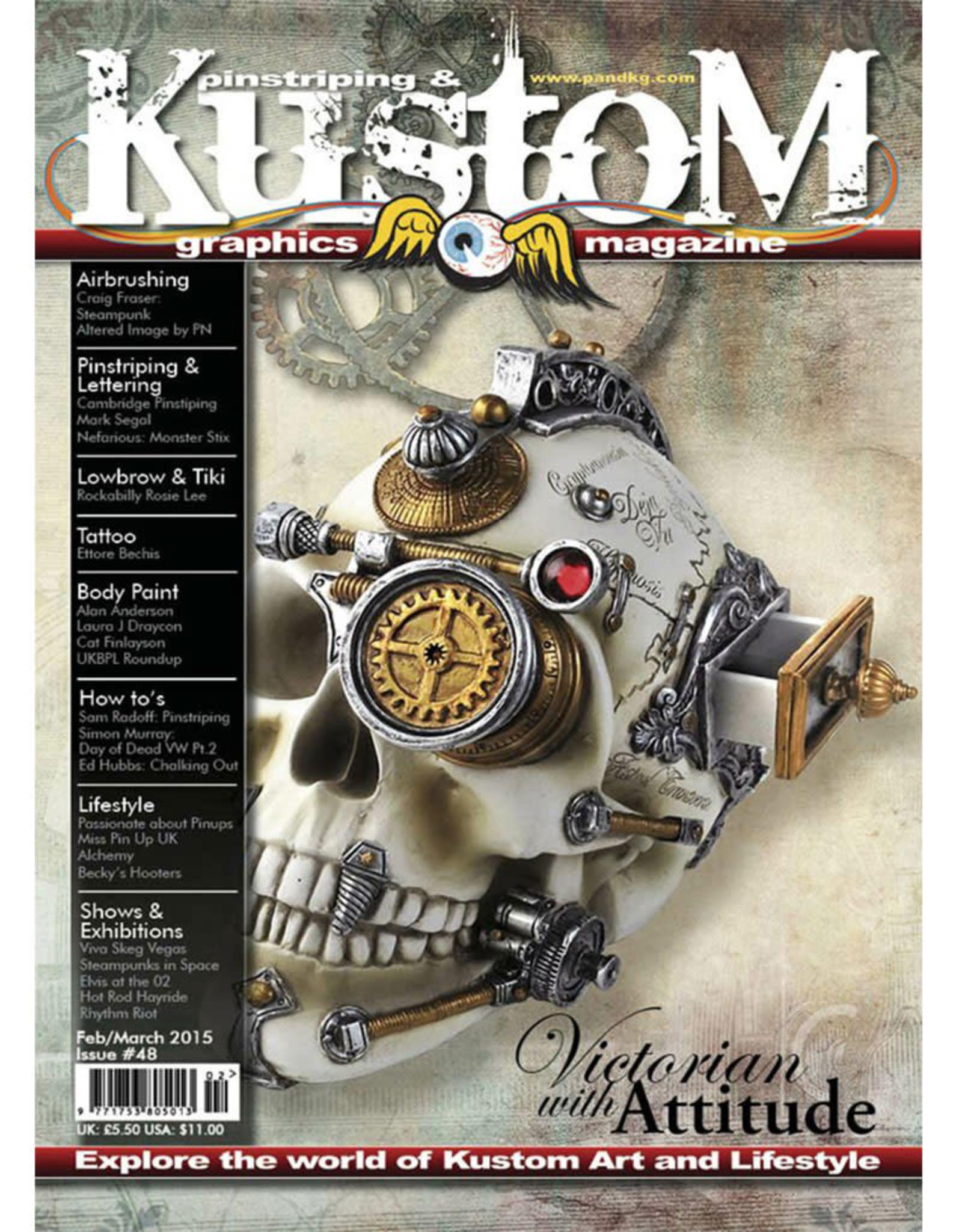 Pinstriping & Kustom Graphics magazine Pinstriping & Kustom graphics magazine #48
