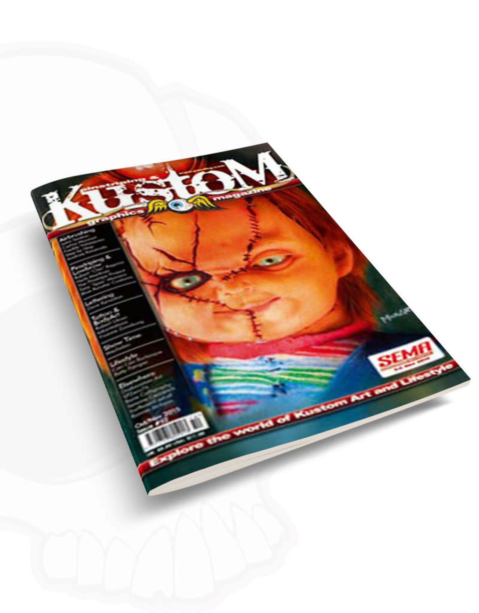 Pinstriping & Kustom Graphics magazine Pinstriping & Kustom graphics magazine #52
